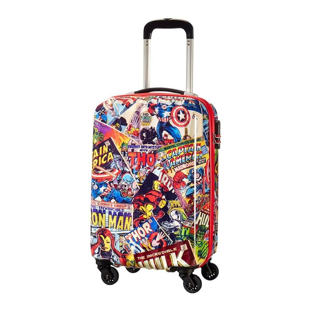 american tourister marvel legends hard shell suitcase 55cm 92690