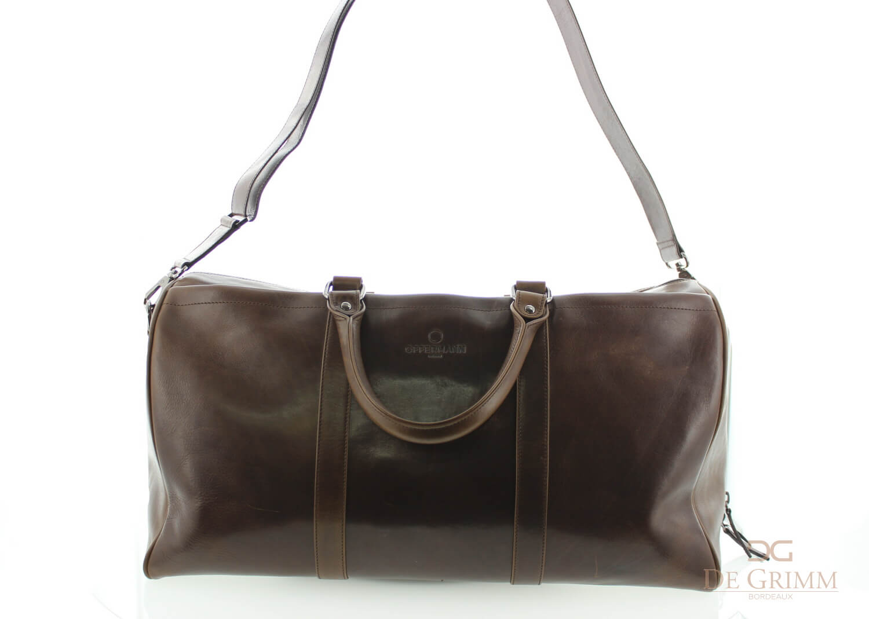 Tuscany Leather - Amsterdam - Sac de voyage en cuir Marron foncé - TL1049/5 K2jyV