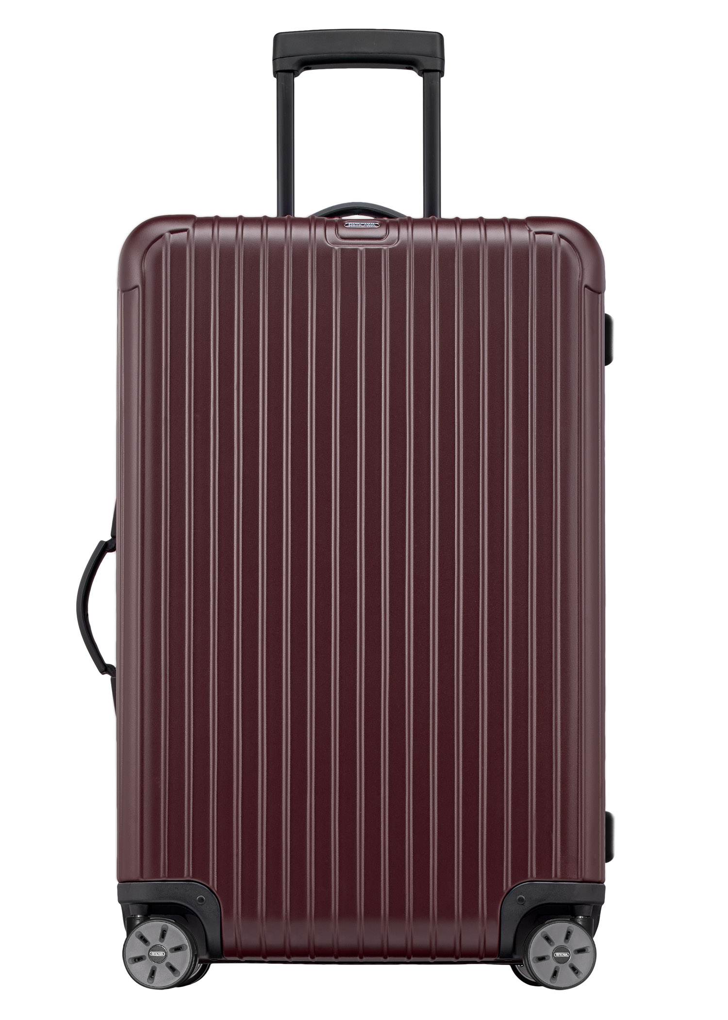 Rimowa Salsa Hard Shell Suitcase 70cm 81070144 Byo Clutch In Matte Burgundy