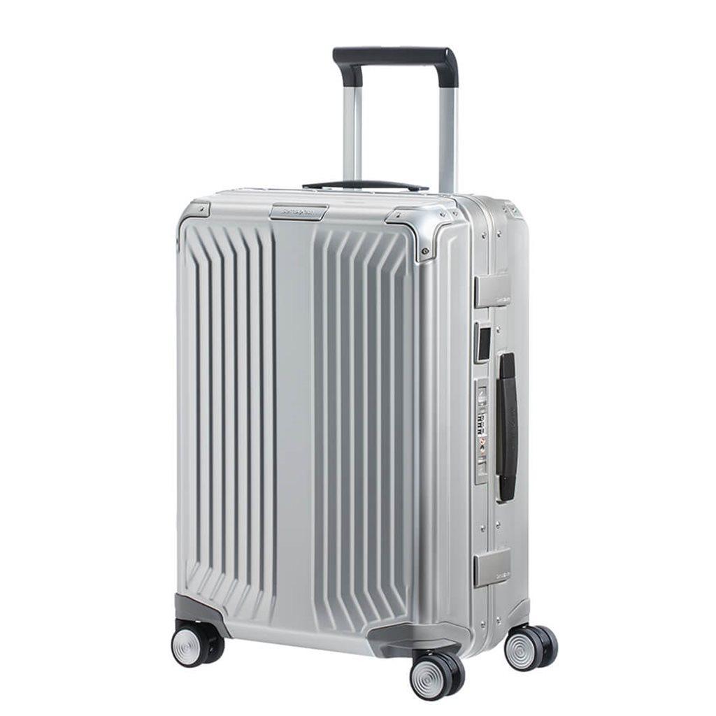67059a5da SAMSONITE Lite box alu Hard-shell suitcase 55cm 122705