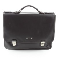 JEAN-LOUIS FOURES Baroudeur Briefcase 3 comp
