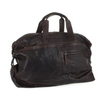 SPIKES & SPARROW Bronco Leather travel bag