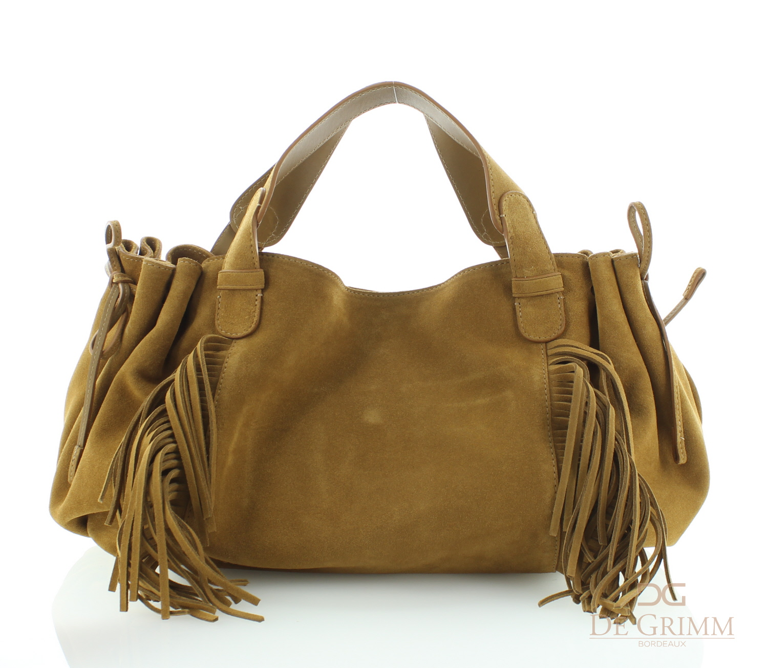 24 GD Bag in Caramel Leather Gerard Darel Sale Eastbay Fast Delivery Cheap Online tNGqsTFeI