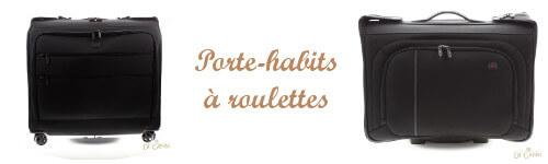 Porte-habits a roulettes