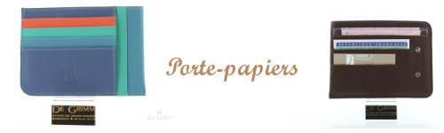 Porte papiers