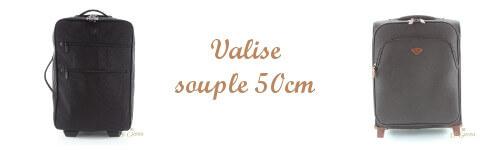 Valise souple 50cm