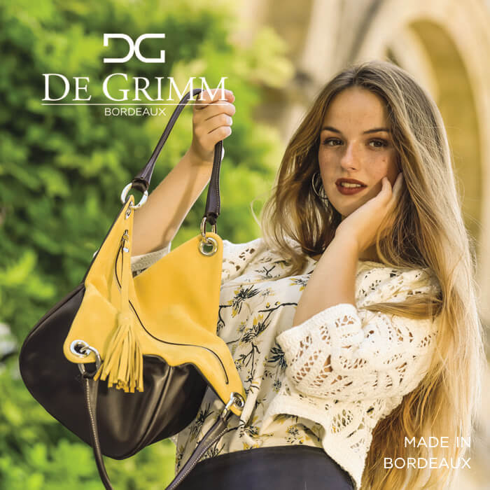 De Grimm leather luxury handbags made in Bordeaux