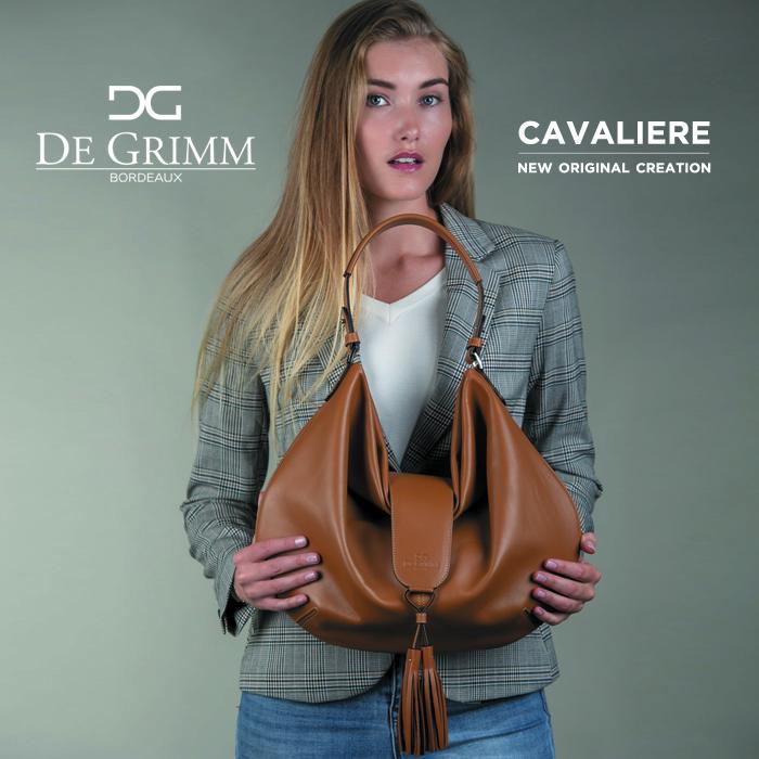 New luxury soft shoulder bag De Grimm Cavaliere