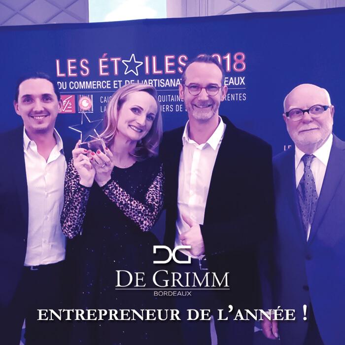 De Grimm, étoile du commerce et de l'artisanat 2018 à Bordeaux