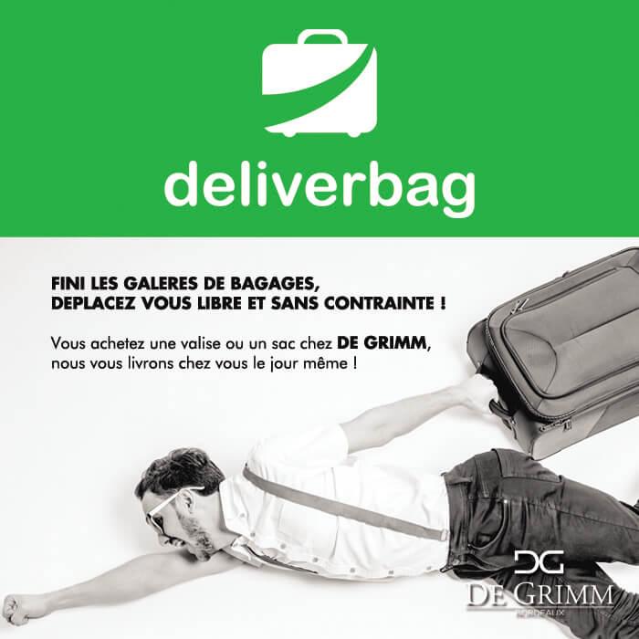 Faites vous livrer dans Bordeaux Métropole avec Deliverbag