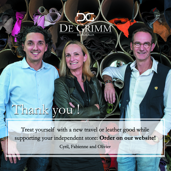 DE GRIMM - support your independant retailer by ordering on our online store