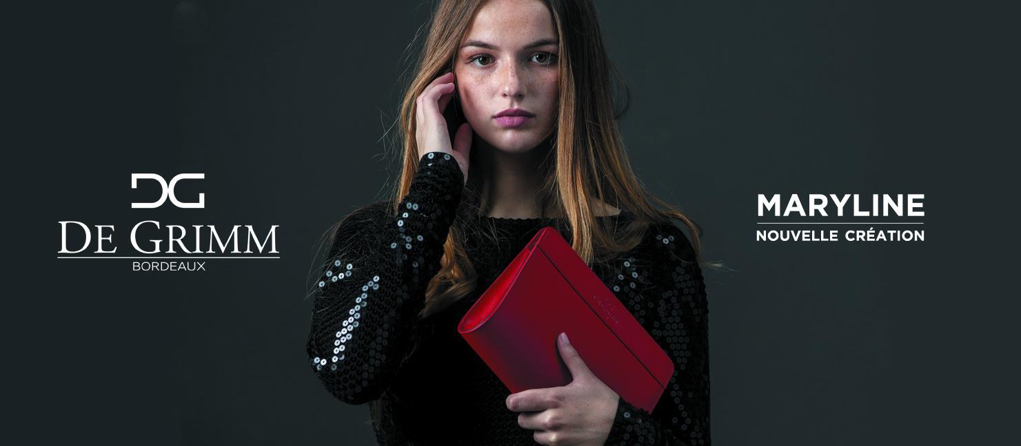 Nouvelle pochette de luxe De Grimm Maryline