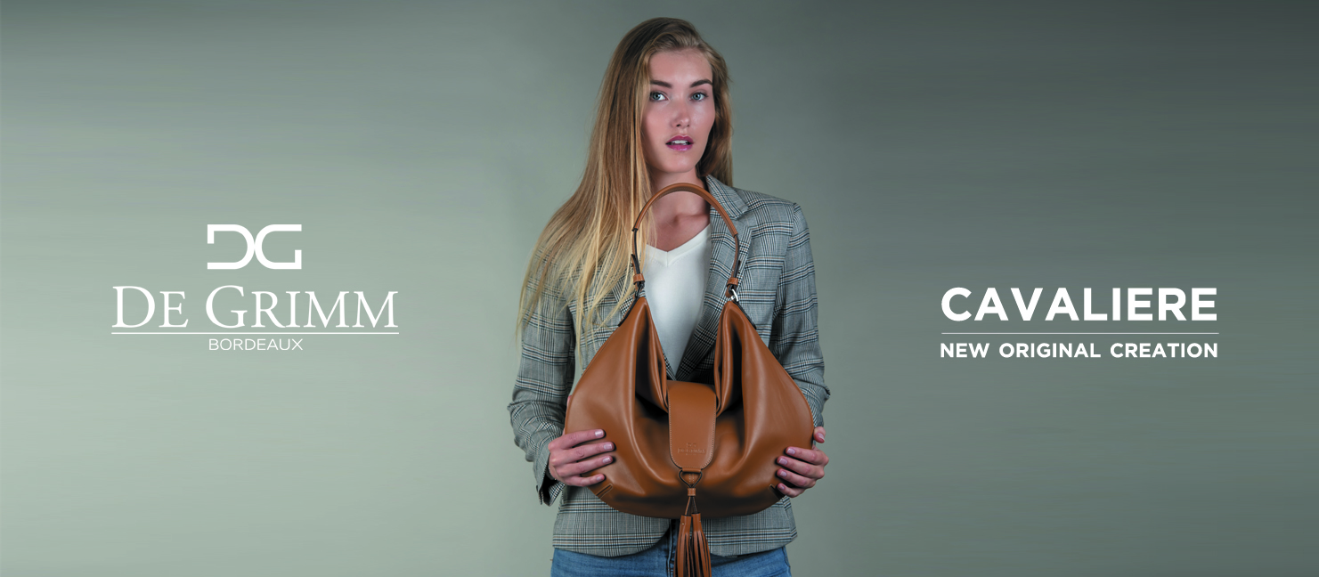 New luxury soft shoulder bag De Grimm Cavaliere