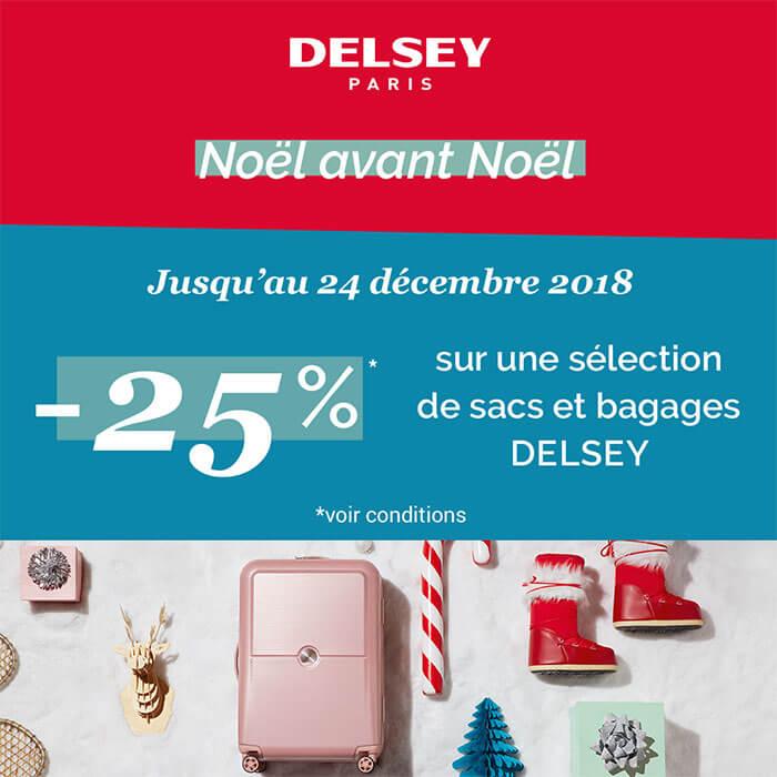 Promo Noël Delsey