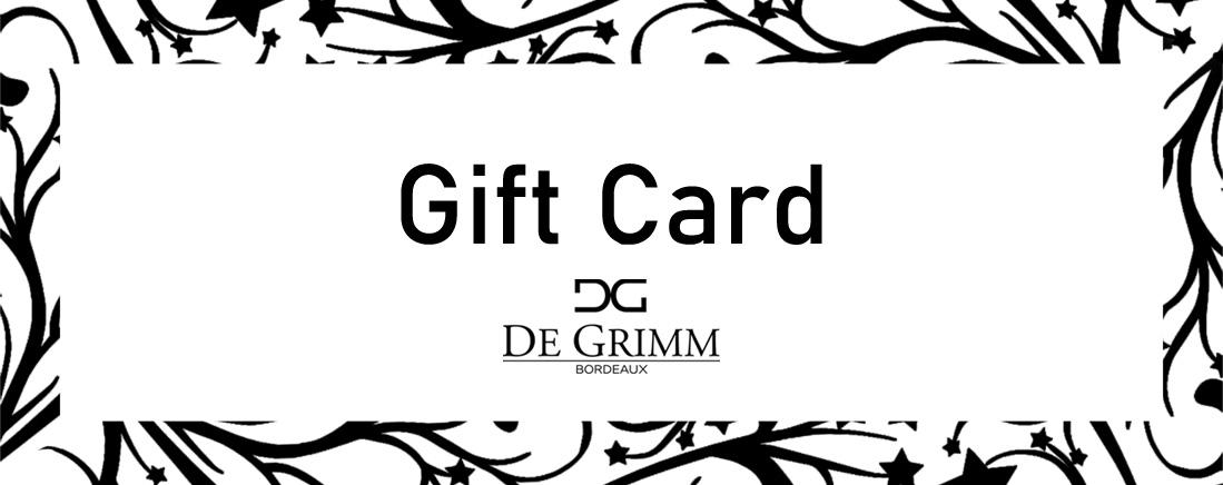 Gift Cards DE GRIMM