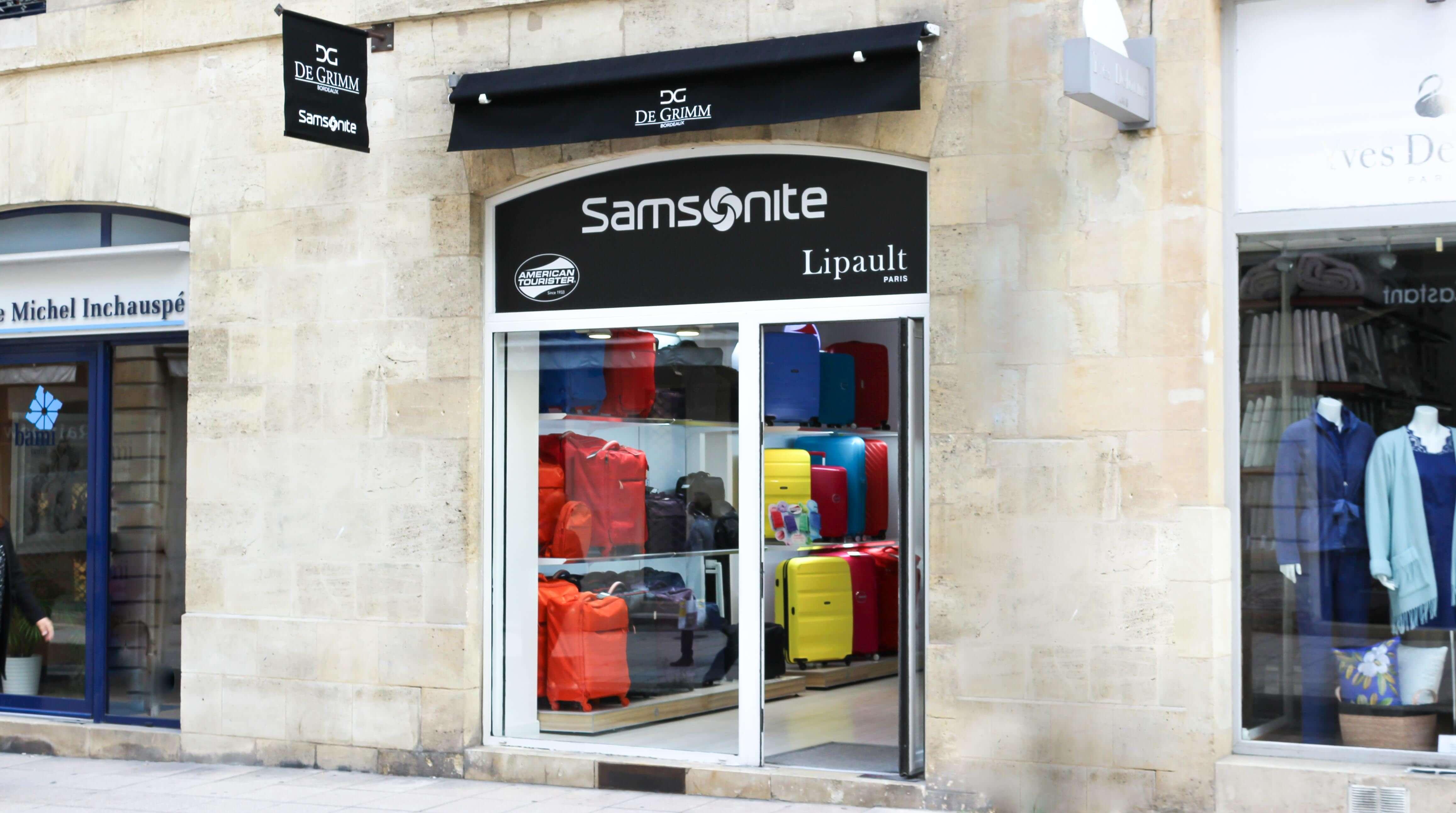 Bagagerie et valises à Bordeaux - Samsonite