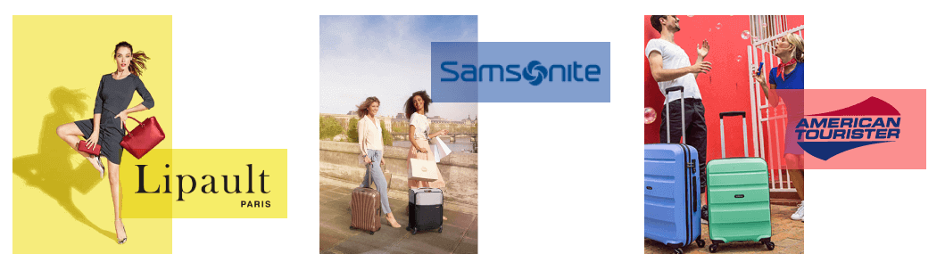 Marques lipault samsonite american tourister bordeaux
